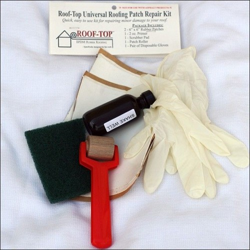 Roof-Top White Universal Patch Kit